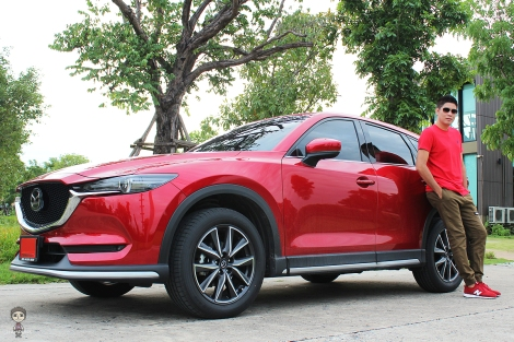 หมูแดง All-New Mazda CX-5 2.0SP (2018)